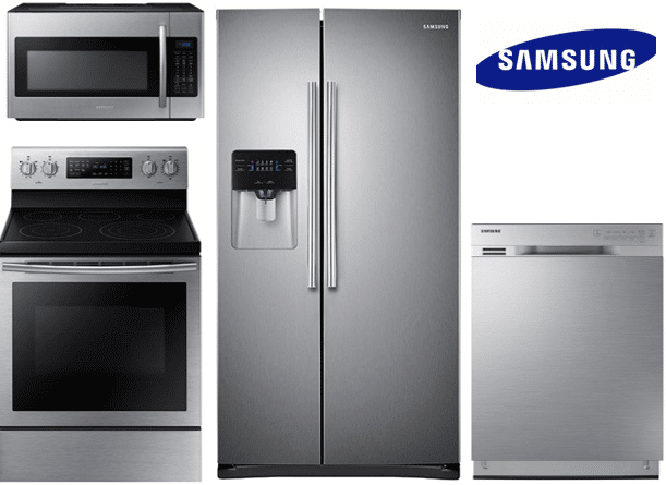 Samsung Convection Side-by-Side Package