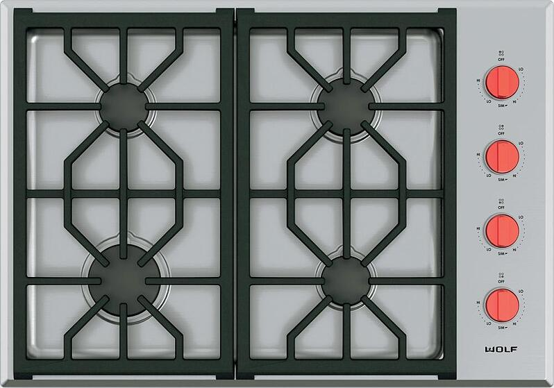 Wolf Cg304ps 30 Inch Gas Cooktop Jpg
