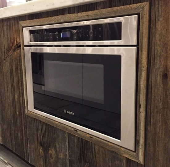 Bosch Microwave Drawer Installed Flush