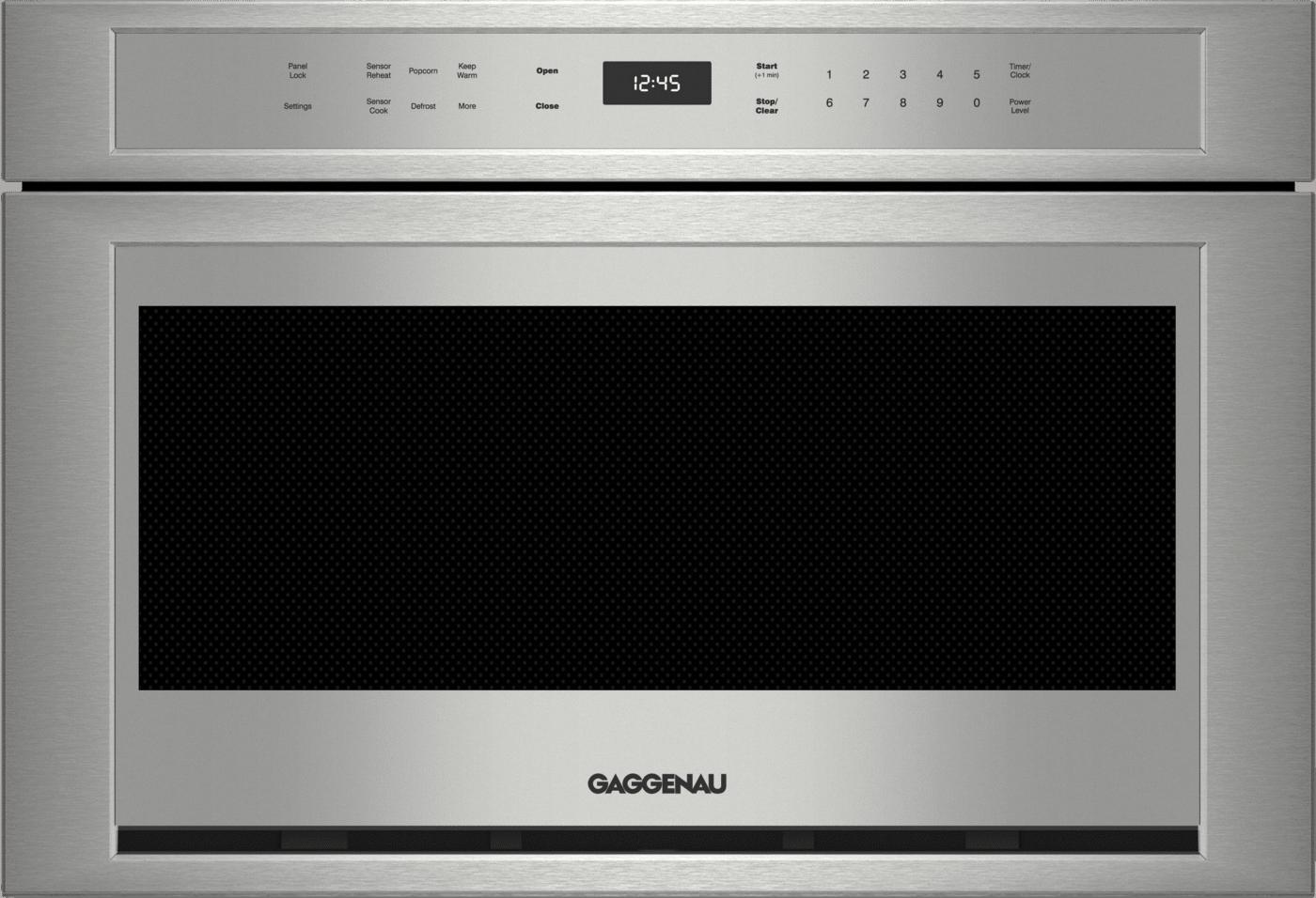 Gaggenau Stainless Steel Microwave Drawer Mw420620