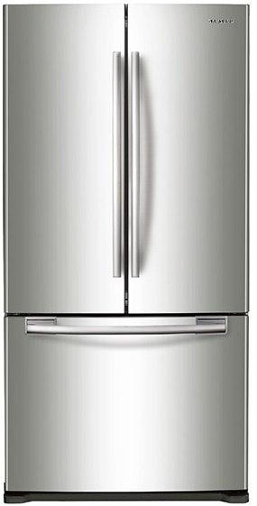 Delightful Samsung RF18HFENB R Refrigerator