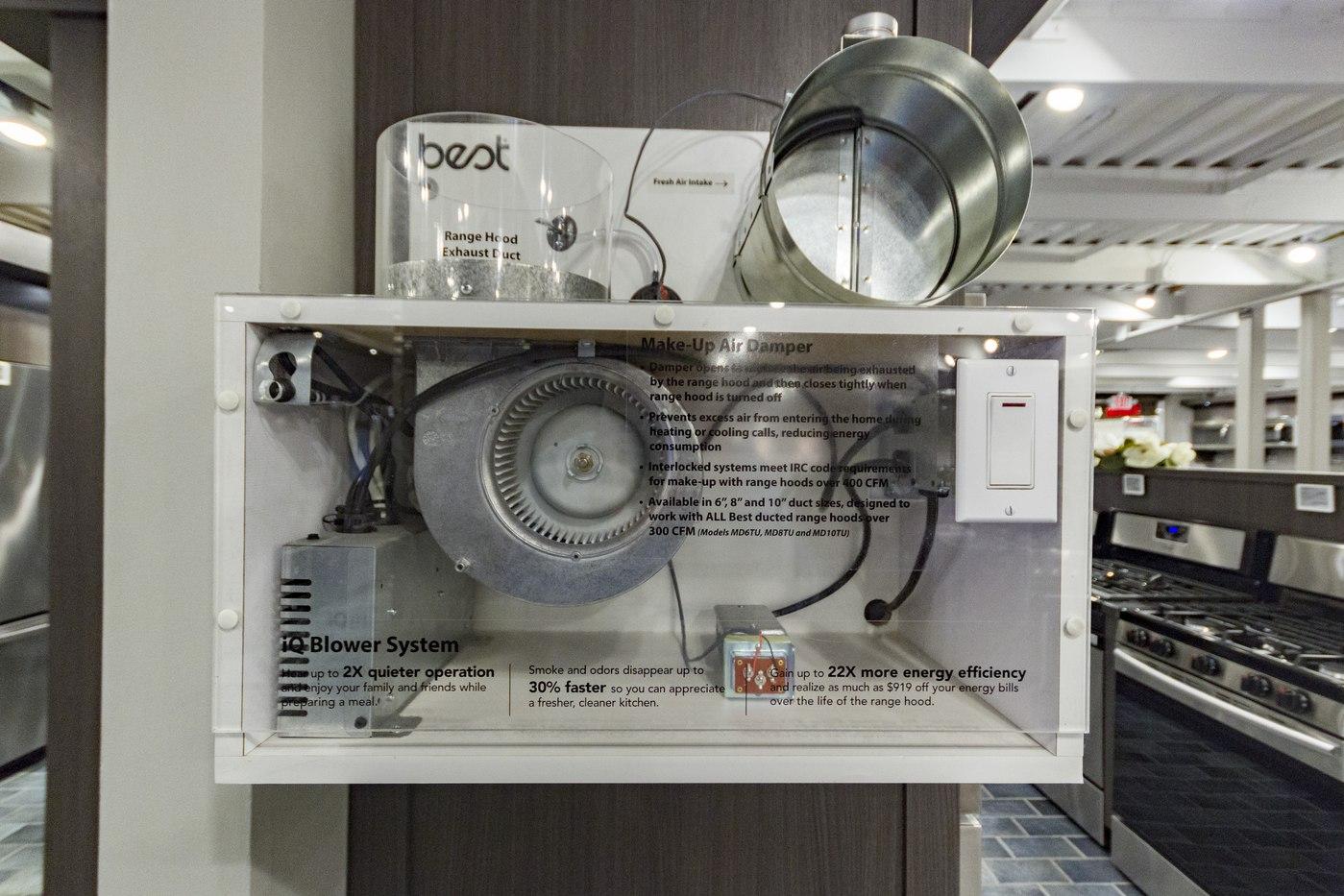 ventilation motor display
