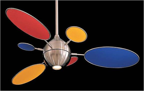 The Cirque Contemporary Ceiling Fan