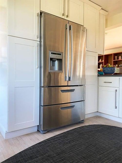 counter-depth-refrigerator-installed