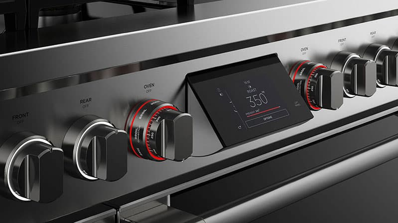 fisher-and-paykel-pro-range-RHV3-484-N-touchscreen-and-knobs