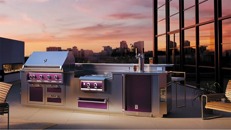 hestan-outdoor-built-in-grill-and-kitchen-in-stainless-steel-and-purple