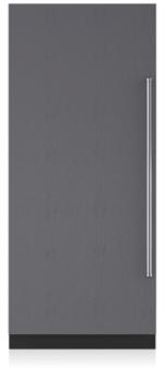 ic36F subzero intergrated freezer