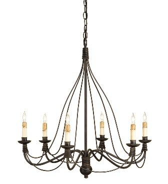 Trademark by Currey and Co. farmhouse chandeliers
