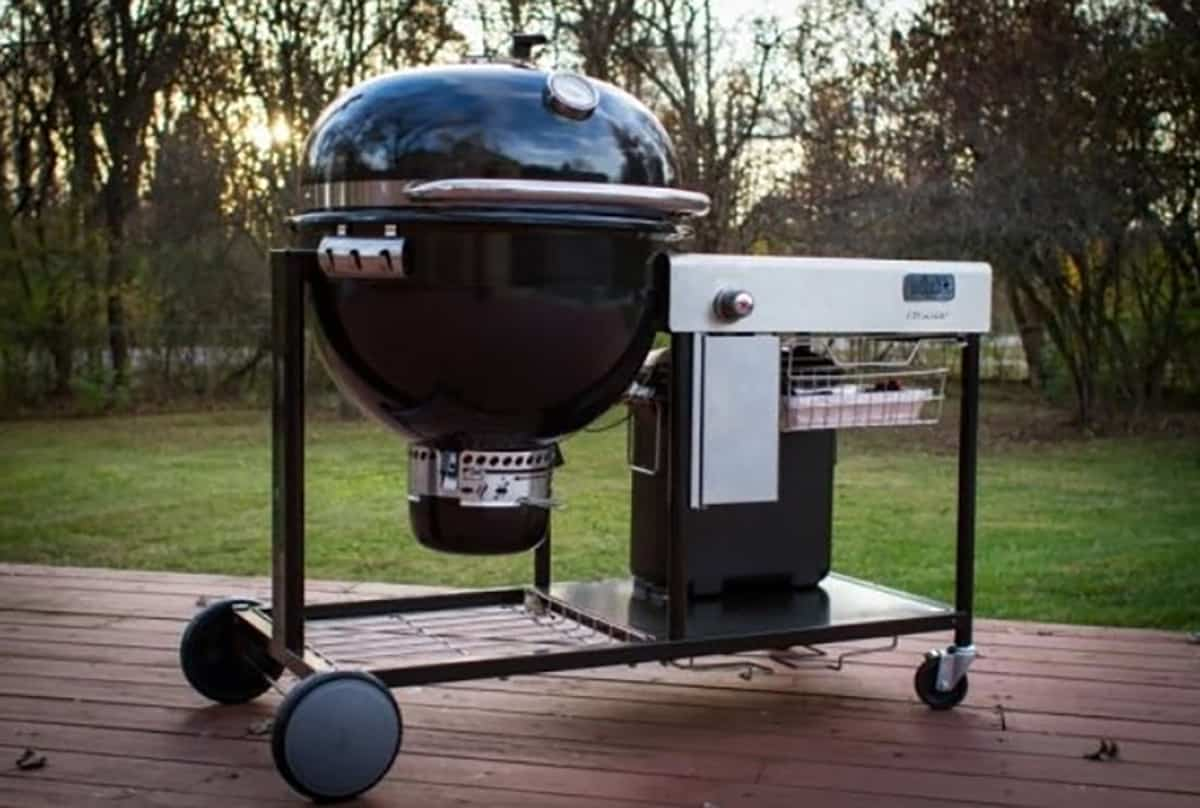 Big Green Egg vs  Weber Summit Charcoal Grill (Reviews
