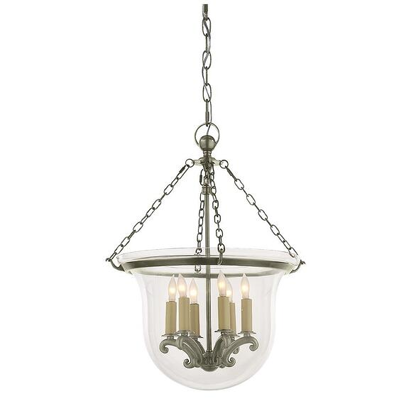 Visual Comfort 'Country Bell Jar' Lantern CHC2117AN