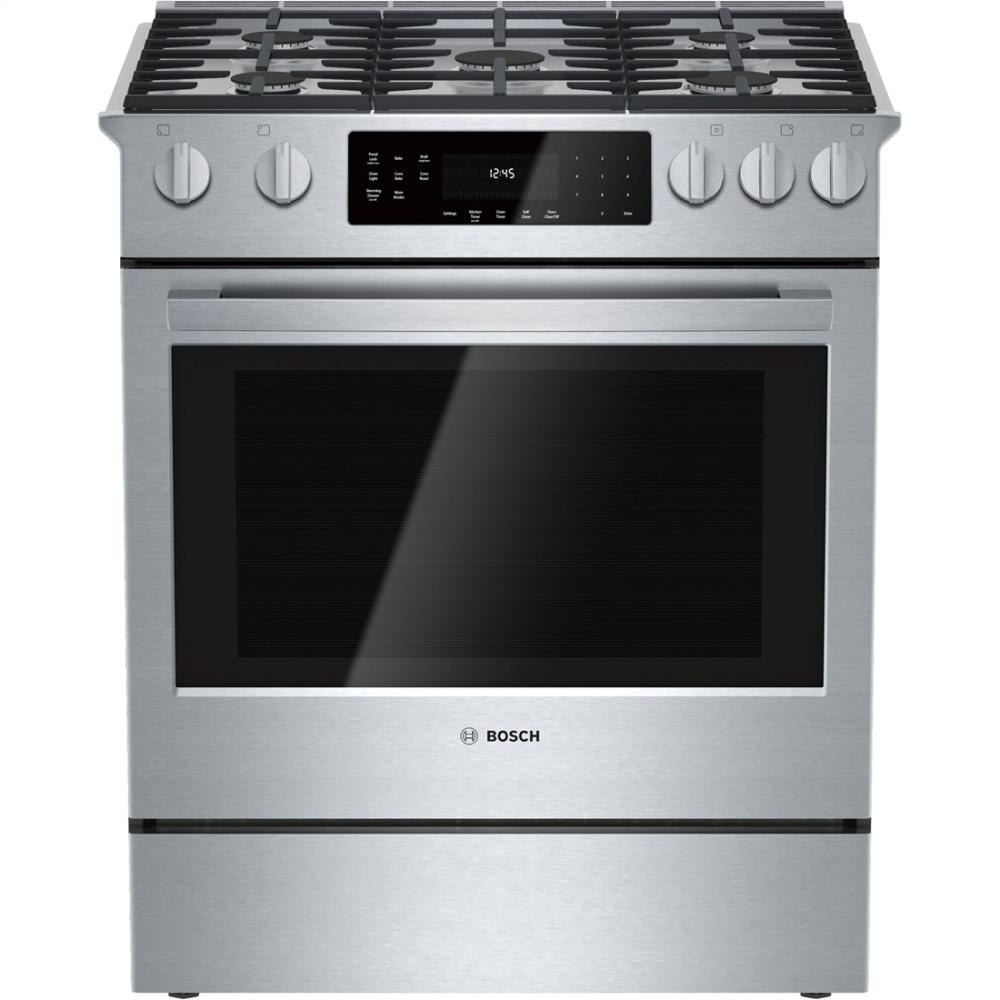 Bosch Benchmark HGI8054 best slide in gas range 2016
