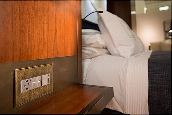 Legrand Adorne Collection bedroom dimmer