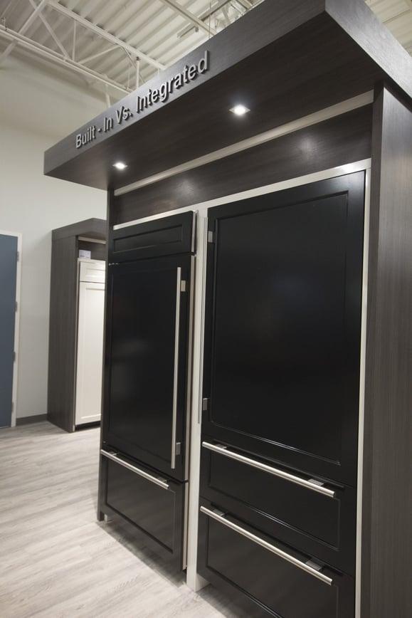 Sub Zero Vs Thermador Integrated Refrigerator Columns