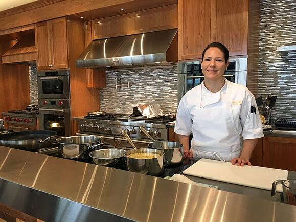 Yale Appliance Chef Nicole Parameter