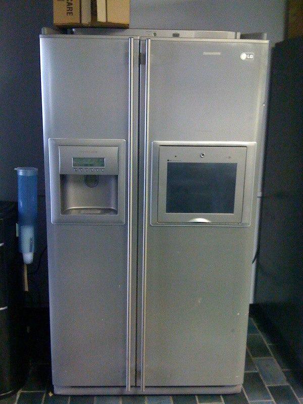Amazing The First Internet Refrigerator
