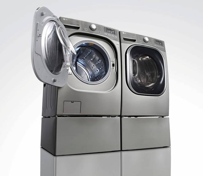 LG heat pump dryer