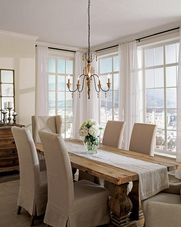 50 Cool And Creative Shabby Chic Dining Rooms: Shabby Chic Dining Room Lighting (Reviews/Ratings/Prices