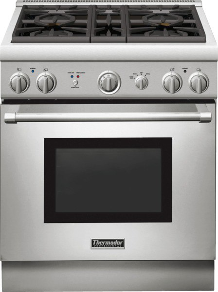 Thermador PRG304 best slide in gas range 2016