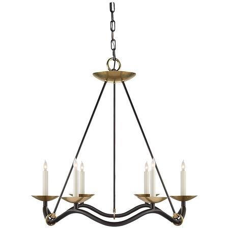 "Visual Comfort ""Choros"" best traditional chandelier"