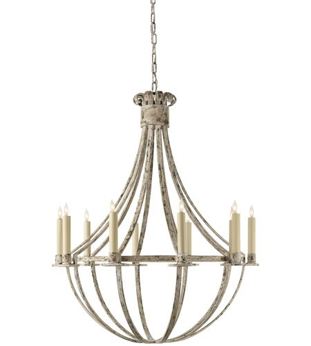 Seymor by Visual Comfort farmhouse chandeliers