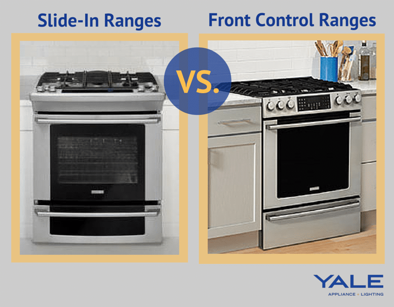 Slide In Ranges vs. front control ranges