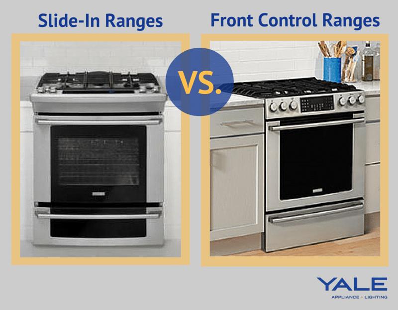Slide In Ranges Vs Front Control Ranges