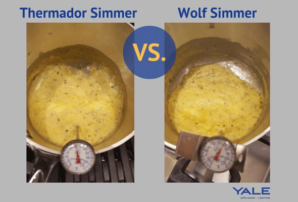 Thermador Simmer vs Wolf simmer burners