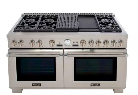 Thermador_60 Inch_Range_with_Side by Side_Convection_Ovens_Ultimate_Entertiners_Center?t=1512414753784&width=618&name=Thermador_60 Inch_Range_with_Side by Side_Convection_Ovens_Ultimate_Entertiners_Center best 60\u201d professional gas ranges (reviews ratings prices)  at soozxer.org