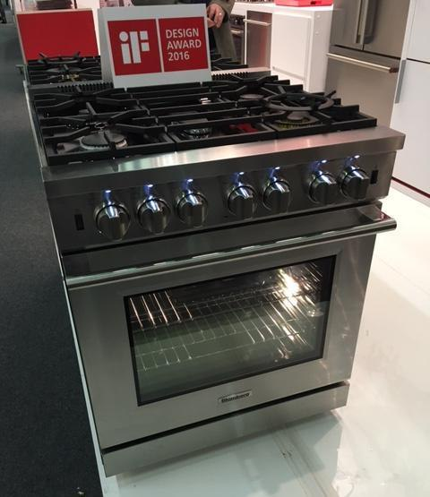 blomberg ranges at architectural digest home design show