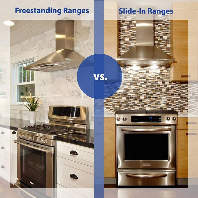 Freestanding vs. slide in ranges