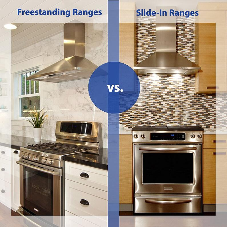 Freestanding vs. slide in ranges