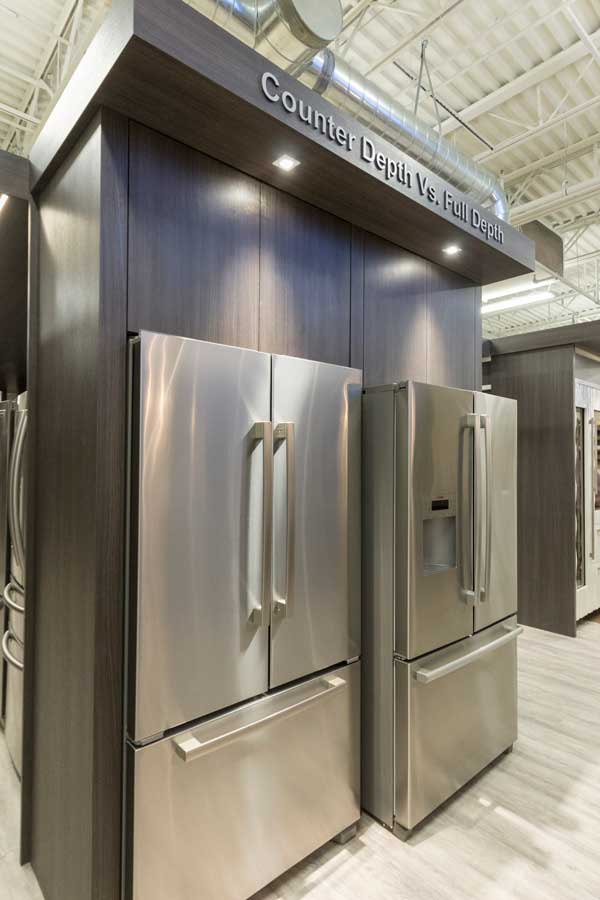 viking d3 vs jenn air vs kitchenaid shallow counter depth refrigerators. Black Bedroom Furniture Sets. Home Design Ideas