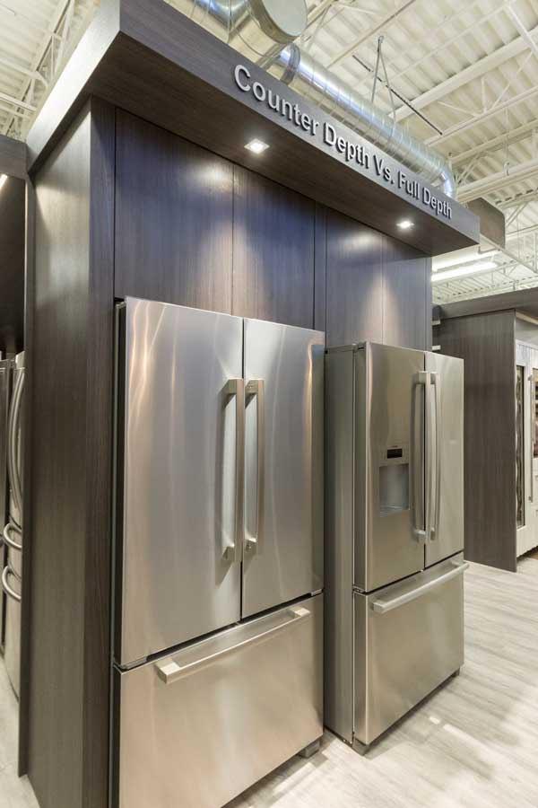Attirant Counter Depth Vs. Full Depth Refrigerator