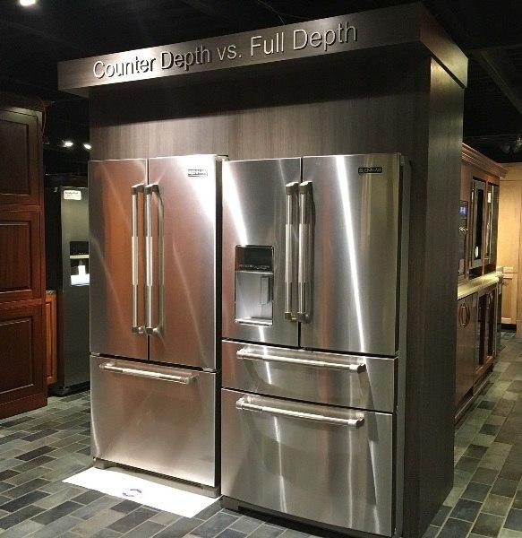 Counter Depth Vs Full Depth Refrigerators
