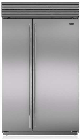 the best 48 inch counter depth refrigerators reviews ratings. Black Bedroom Furniture Sets. Home Design Ideas