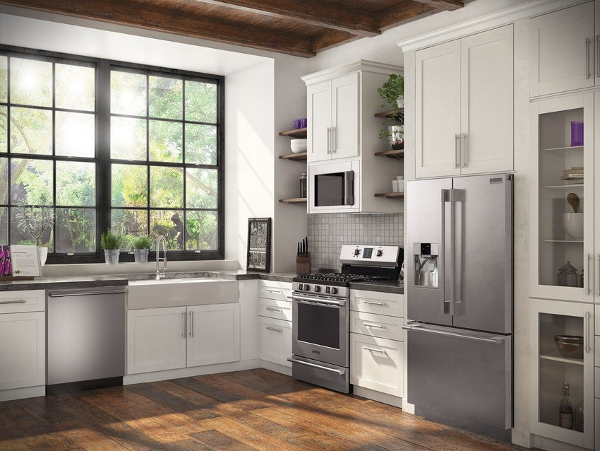 Beau Frigidaire Professional Affordable Luxury Kitchen Package