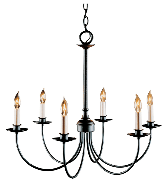Hubbardton Forge 'Simple Lines' Chandelier traditional lighting