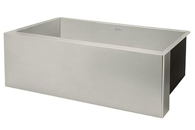 rohl stainless steel farmhouse sink