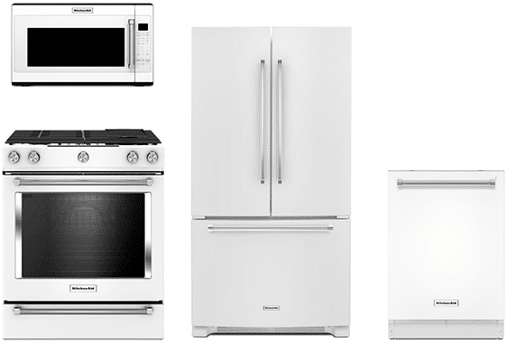 Kitchenaid Appliances White Best White Kitchen Appliance Packages  Reviewsratingsprices