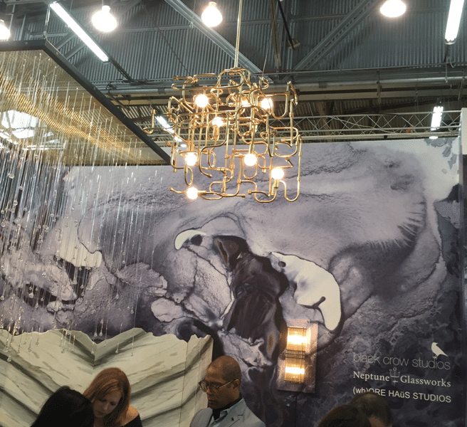 architectural digest home design show lighting