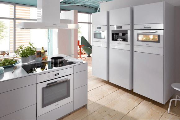 ... White Kitchen Appliances