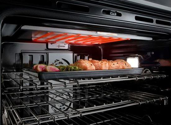 Jenn-Air V2™ Double Wall Oven JJW3830DS no preheat heating element