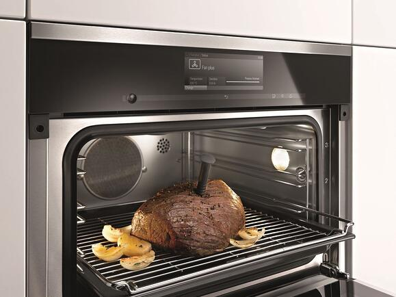 how to change element in miele oven