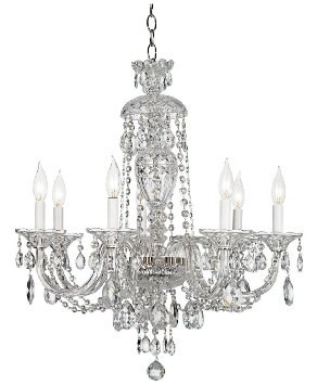 Schonbek Lighting Sterling 7 light Chandelier best colonial lighting