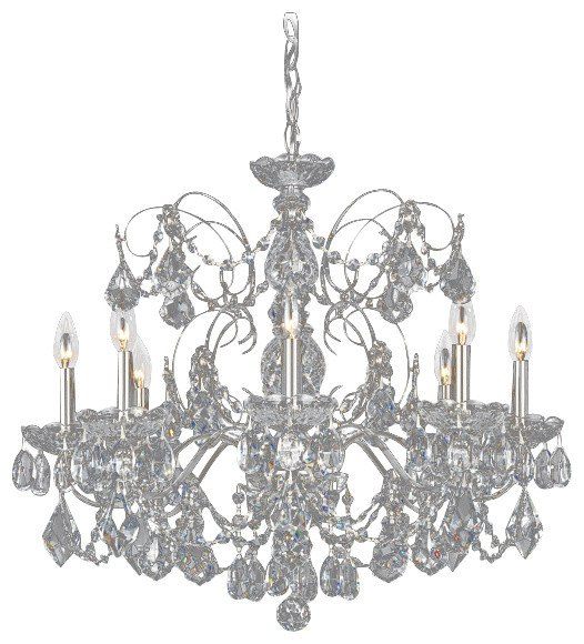 Schonbek Crystal Chandelier 'Century' traditional lighting