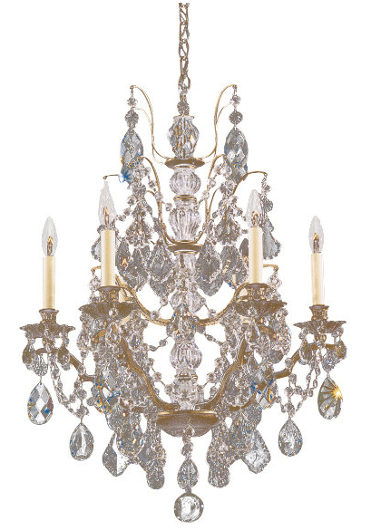 "Schonbek ""Bordeaux"" Chandelier neoclassical lighting"