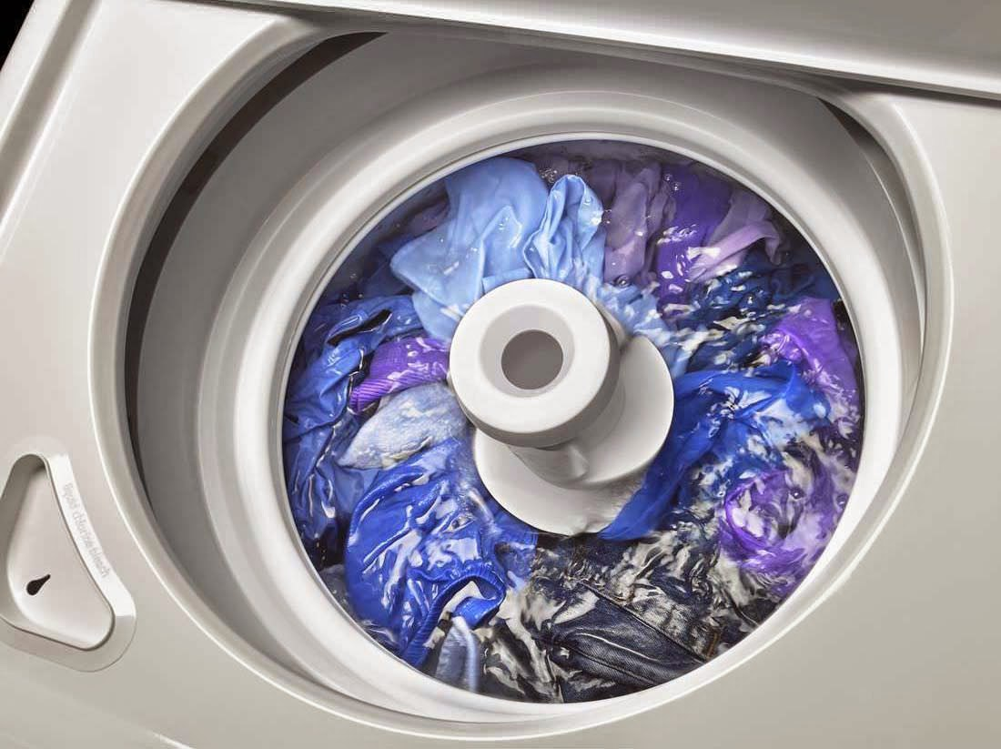 traditional top load washer with agitator