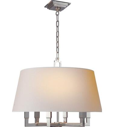 "Visual Comfort ""Square Tube Hanging Shade"" pendant neoclassical lighting"