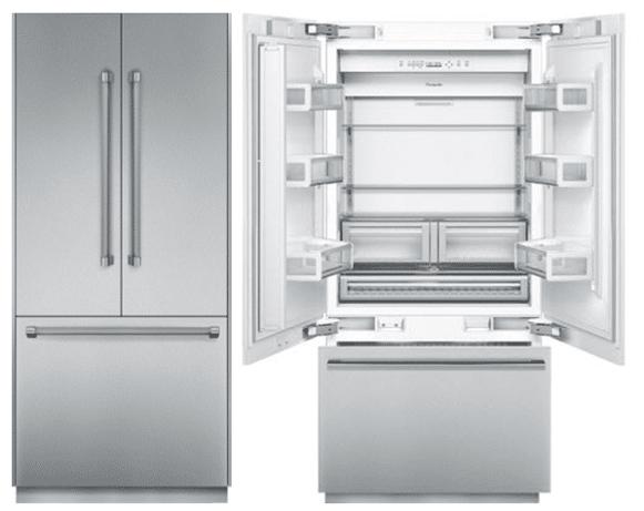 Thermador Vs Ge Monogram Integrated Refrigerators
