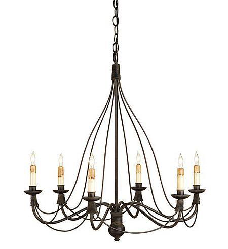 "Currey and Co. ""Trademark"" best tradtional chandelier"